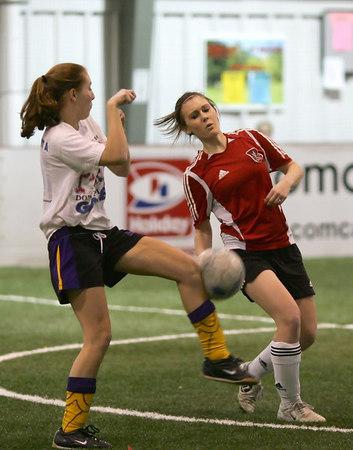 EP Storm U15 Soccer vs Chaska @ Indoor Soccer Blast (Feb 18, 2007)