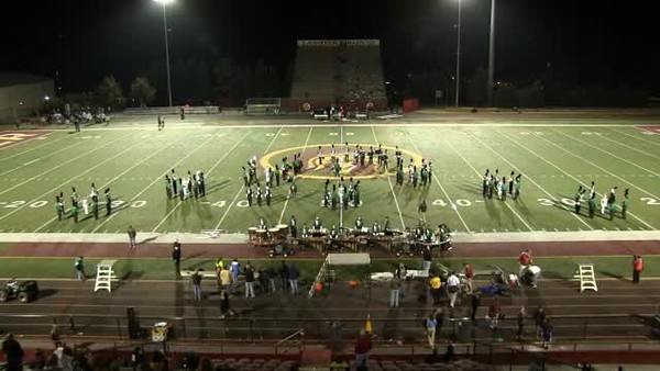 2012-11-02 - Marching Band - Lassiter Football Game