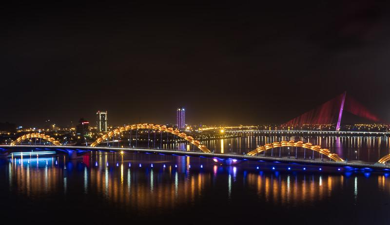 The Dragon Bridge over the River Han