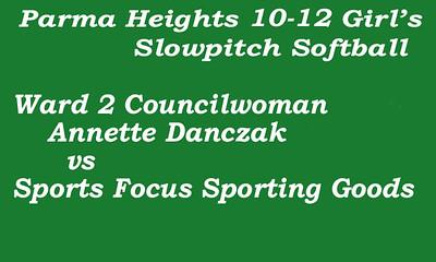 170626 Parma Heights Girl's 10-12 Softball Game 2