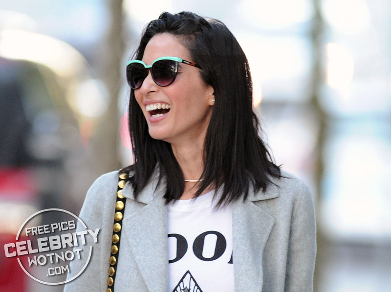 Olivia Munn Shows Off Her Mile-High Legs In Daisy Dukes, Vancouver