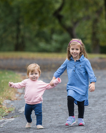 Seeman Family Session, Central Park North Woods