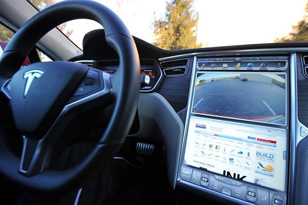 Tesla Test Drive