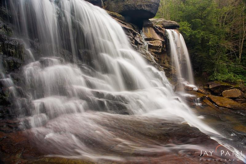 Penddleton Falls, Blackwater Falls, West Virginia (VW),  USA