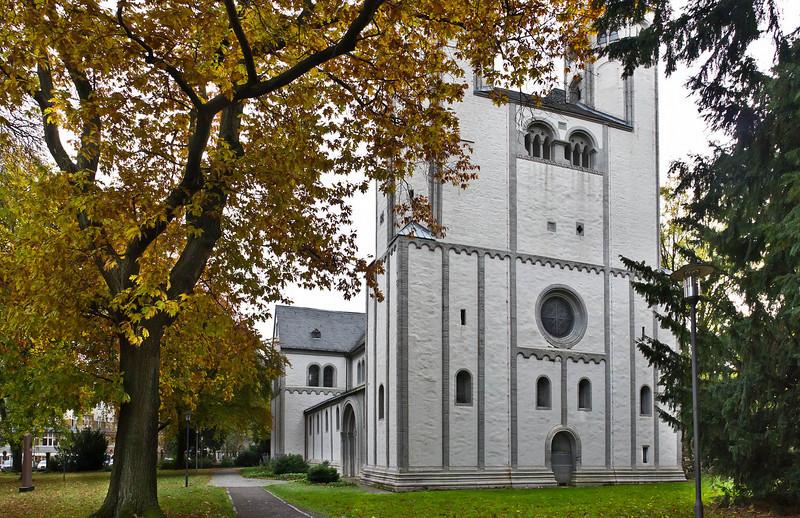 Goslar. Neuwerkkirche von Westen