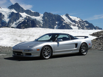 NSX & Ferrari Club Mt Baker Drive - August 2006