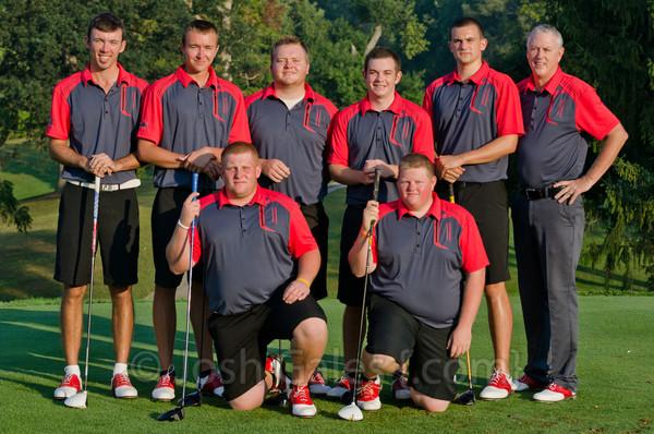 2013 IWU Men's Golf Team