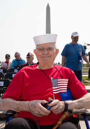 V-E Day Commemoration: WW2 Memorial (May 8, 2016)