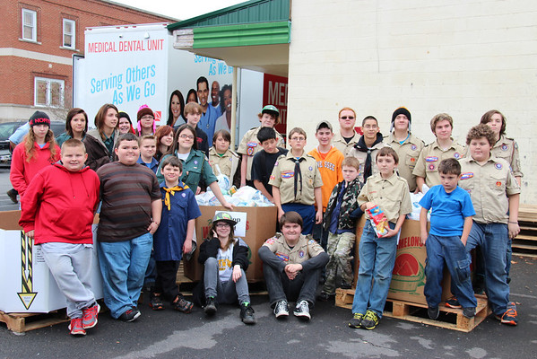 2013,  Scouting for Food - Food Drive