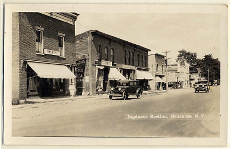 BRUSHTON NY BUSINESS SECTION
