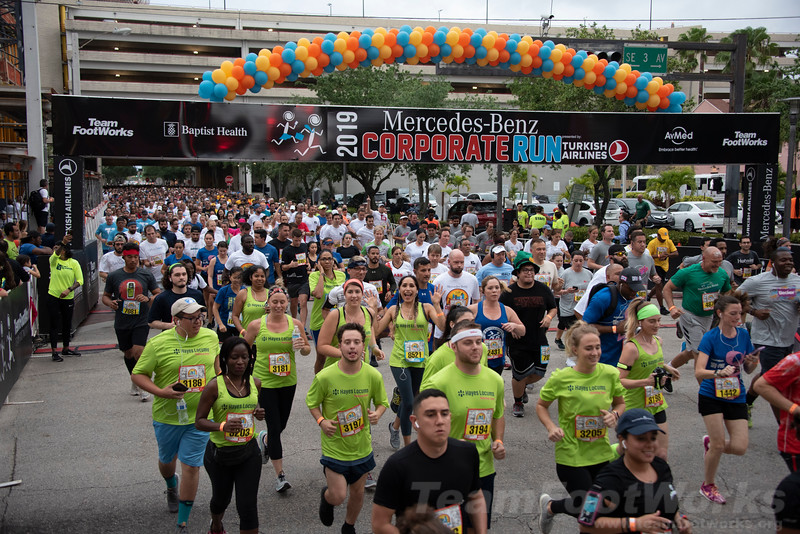 2019 Fort Lauderdale Mercedes-Benz Corporate Run presented by Turkish Airlines