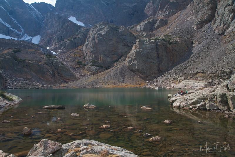 Sky Pond at Rocky Mountain National Park Colorado