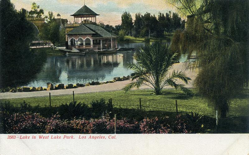 Lake In West Lake Park