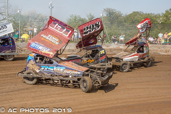 BriSCA V8 Hotstox, Northampton 22 April - Alex Catley