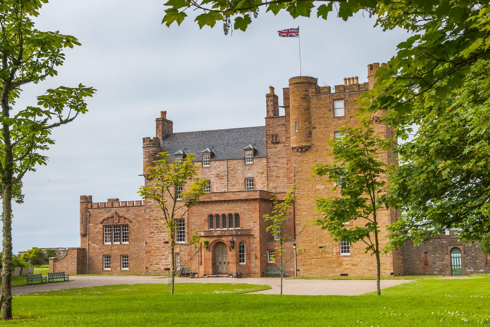 蘇格蘭梅城堡(Castle of Mey),五百年歷史