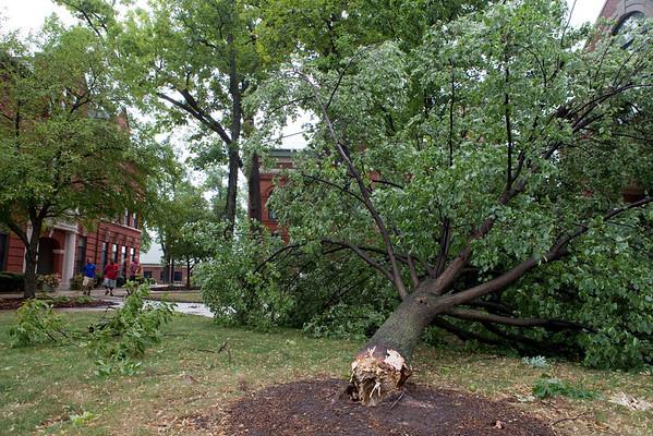 2011 Campus Storm Damage