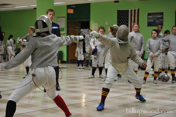 NJ District Tournament (Girls Saber) - 1/28/18