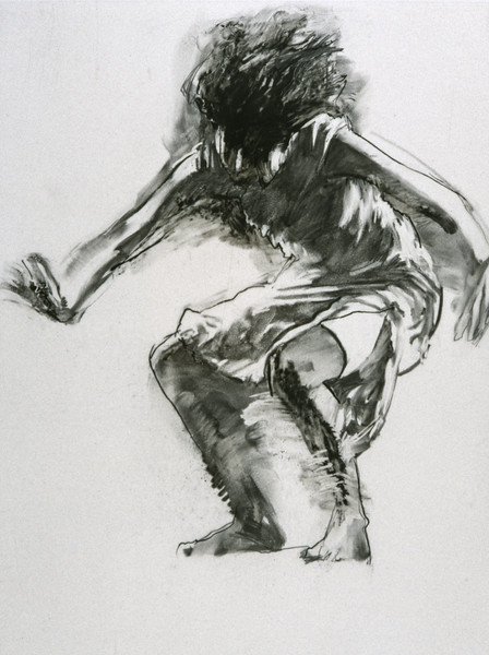 Study for Sobi with Red Stockings (2001)