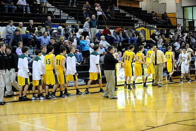 Boys Varsity Basketball @ Winterset 2011-2012