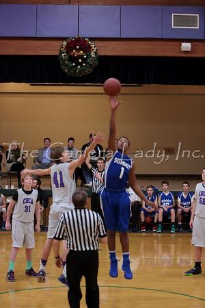 CHCA 2013 MS Boys 8th Gr B Basketball vs Summit 12.17