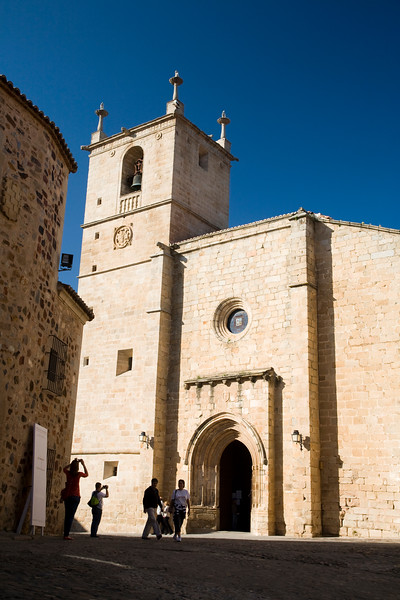 Saint Mary Cathedral, Caceres, Spain