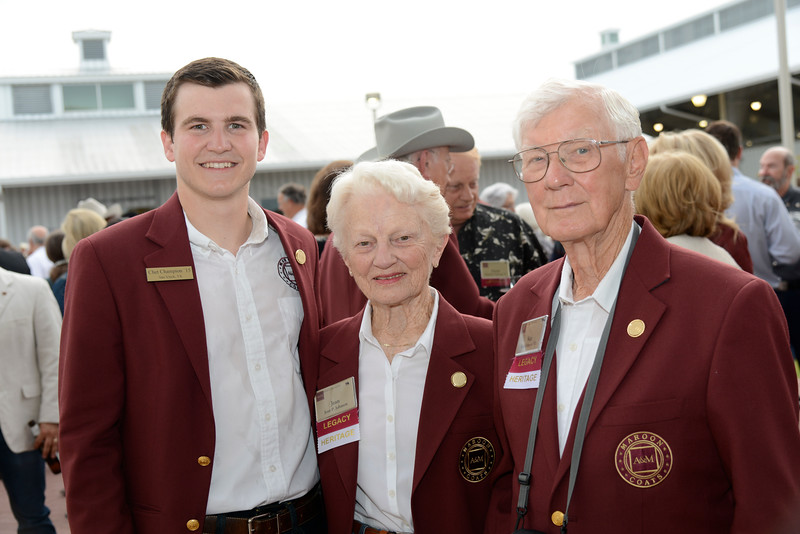 Chet Champion '15, Jean Johnson, Skip Johnson '52