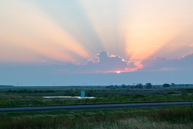 Texas Red River Sunrise