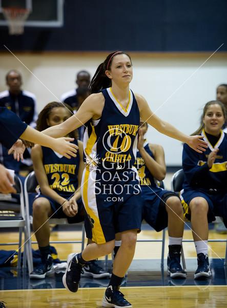 2012-01-03 Basketball Varsity Girls Westbury Christian @ Second Baptist