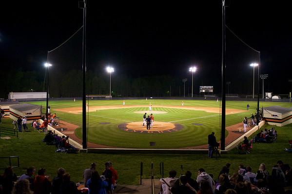 NDHS Baseball vs Davie County
