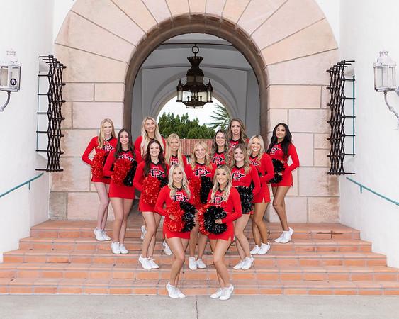 SDSU Cheer Seniors 2021