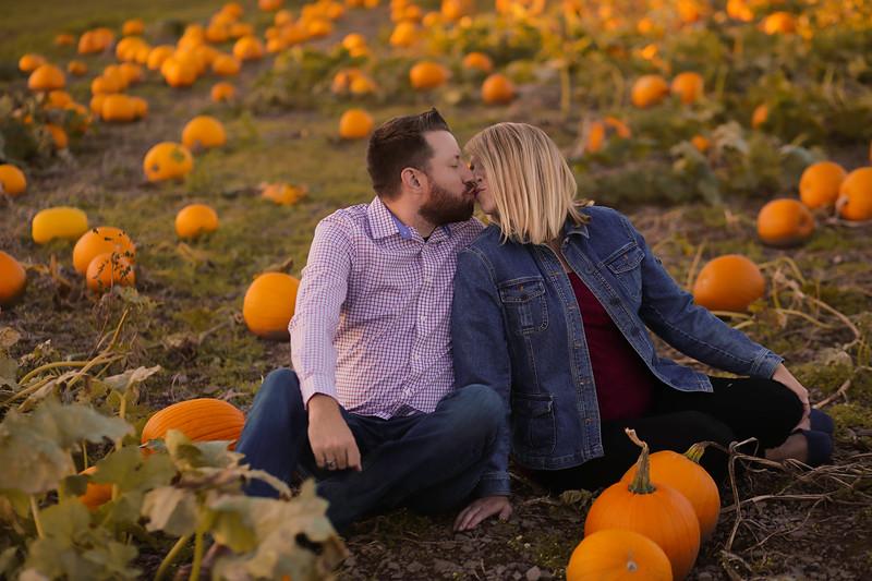 Tara&JC {pumpkins}