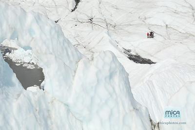 Ice Climbing with Sandra