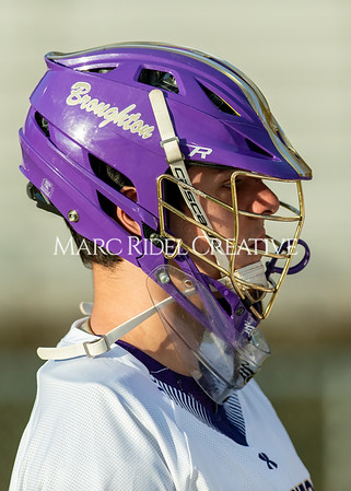 Broughton boys varsity lacrosse vs Enloe. March 10, 2020. D4S_8014