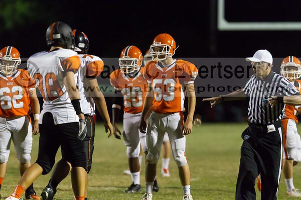 Boone Junior Varsity Football #53 - 2013