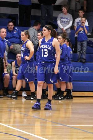 Girls Basketball, Danville vs Holy Trinity 12/7/2012