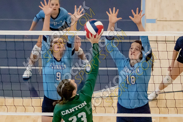 Franklin-Canton Volleyball - 09-11-19