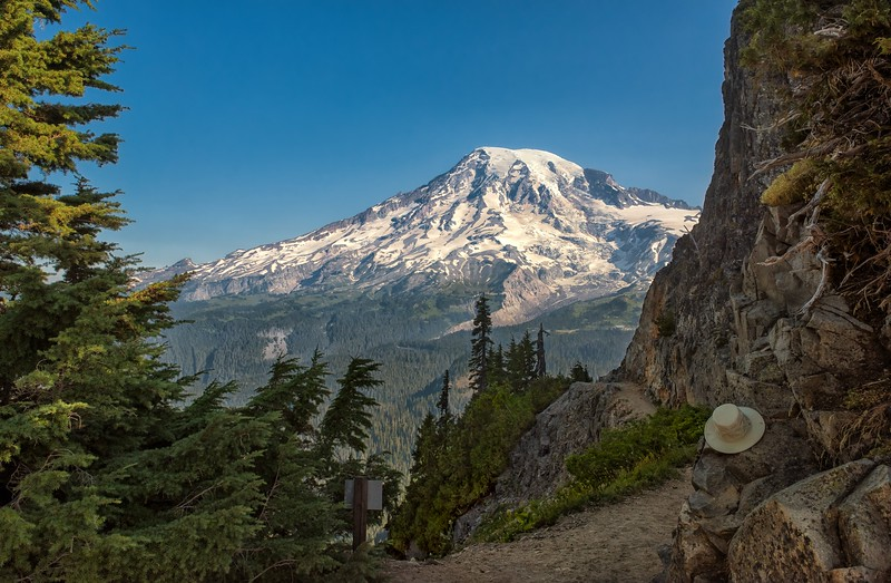 Hats Off to Mt. Rainier