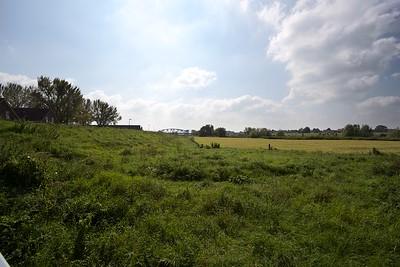 Een van de kiekjes tijdens de wekelijkse wandelingen van Van Dongeren.