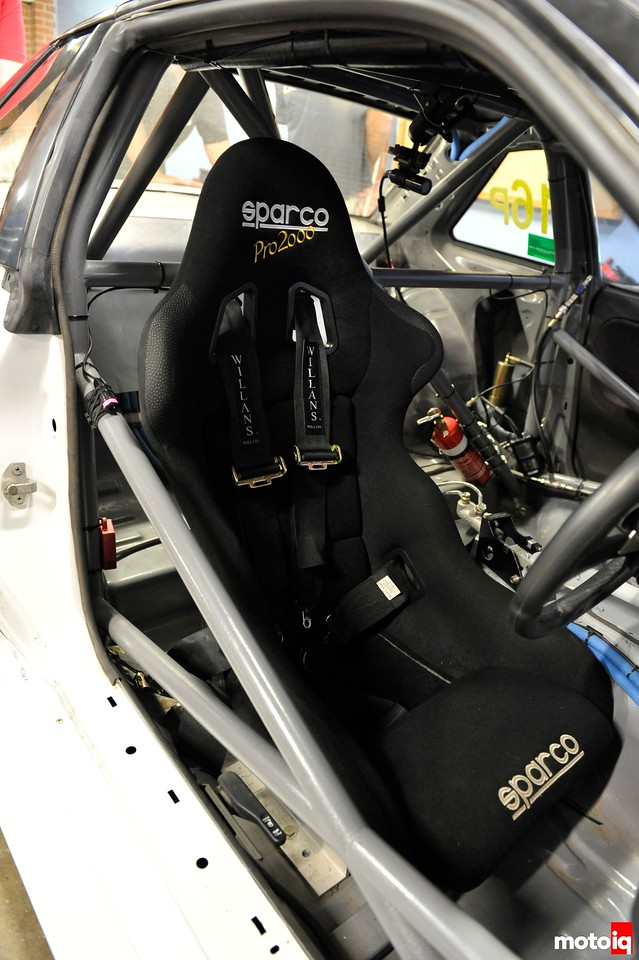 mca suspension s13 sparco seat