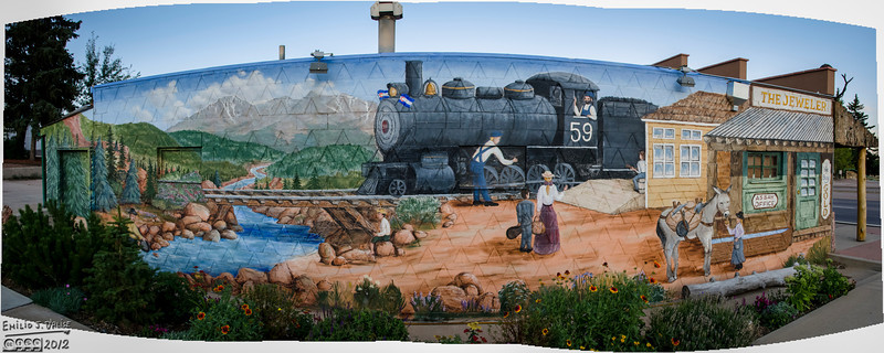 The Murals of Woodland Park, Colorado
