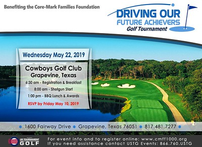 2019 Driving Our Future Achievers Golf Tournament