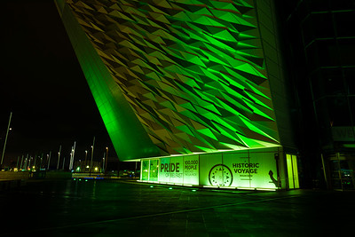 Northern Irealnd Goes Green for St Patrick