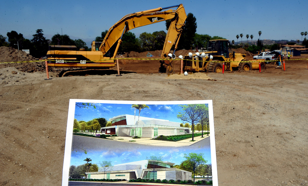 . A rendering of the new Hacienda Heights Community Center at the former site of Hillgrove School on Thursday, March 2, 2013 in Hacienda Heights, Calif.    (Keith Birmingham Pasadena Star-News)