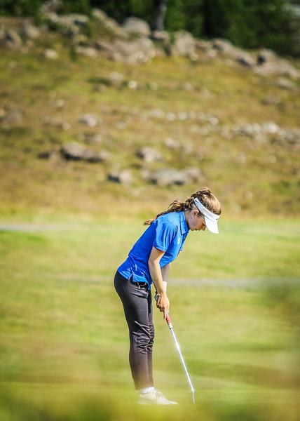 GKG, Eva María Gestsdóttir. Íslandsmót í golfi 2019 - Grafarholt 2. keppnisdagur Mynd: seth@golf.is