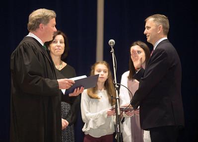 Sean Casten swearing-in ceremony