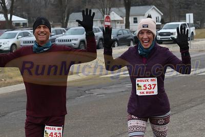 5K Finish - 2019 Run Like the Dickens