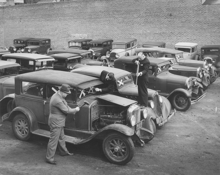 1937, Car Strength Test