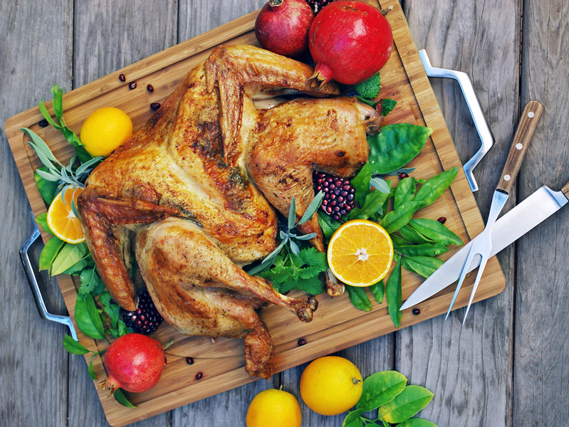 butterflied turkey