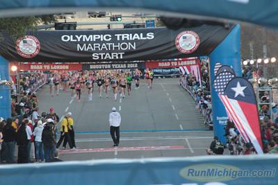 Women Start - 2012 US Olympic Trials Marathon