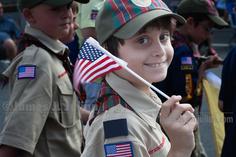 Rocco in the Centennial Parade